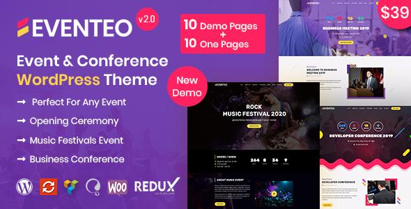 Eventeo Event - Event & Conference WordPress Theme