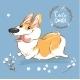 Excited Corgi Dog - GraphicRiver Item for Sale