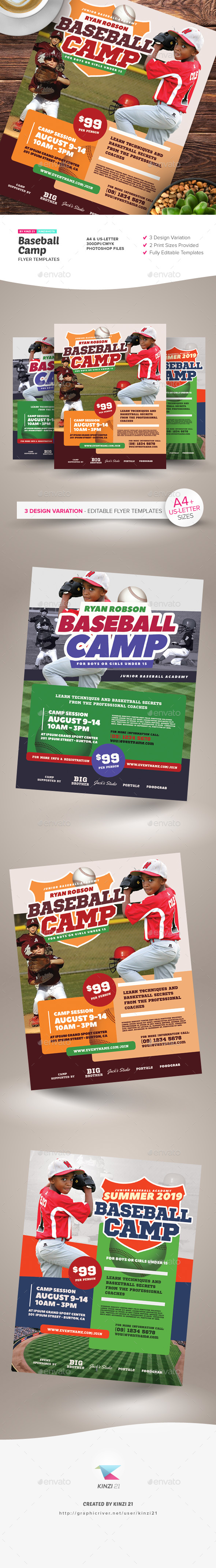 Softball Flyer Graphics Designs Templates From Graphicriver Jpg 590x4286 Photo Baseball Collage Design Sports