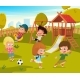 Baby Playground Summer Park - GraphicRiver Item for Sale