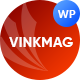 Vinkmag - Multi-concept Creative Newspaper News Magazine WordPress Theme
