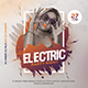 Electric Party Flyer - GraphicRiver Item for Sale