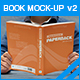 Book Mock-up v2 - GraphicRiver Item for Sale