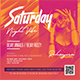 Saturday Night Flyer Party - GraphicRiver Item for Sale