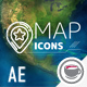 Map Icons - VideoHive Item for Sale