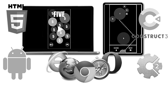 Five ( HTML5 Game)
