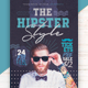 The Hipster Style Flyer Template - GraphicRiver Item for Sale