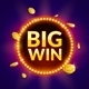 Big Win Golden Coins Falling