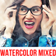 Watercolor Mixed Sketch Photoshop Action - GraphicRiver Item for Sale