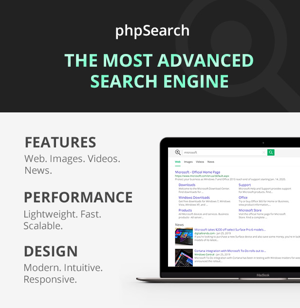 phpSearch - Search Engine Platform - 3