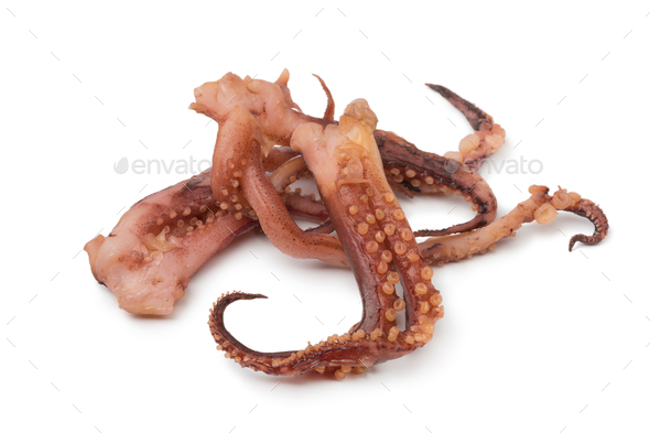Japanese dried squid tentacles with vinegar flavor - Stock Photo - Images