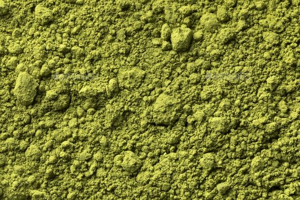 Japanese Matcha tea full frame - Stock Photo - Images