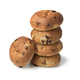Stack of fresh baked raisin buns - PhotoDune Item for Sale