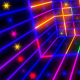 Neon Flickering Colorful Abstraction - VideoHive Item for Sale