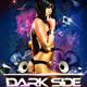 Dark Side Party Flyer PSD Template - GraphicRiver Item for Sale