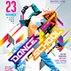 Dance School Promo Flyer - GraphicRiver Item for Sale