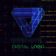 Digital Logo In Device - VideoHive Item for Sale