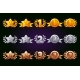 Golden, Silver and Bronze Rewards Icons Set - GraphicRiver Item for Sale