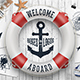 Welcome Aboard 15 Awesome Emblems - GraphicRiver Item for Sale