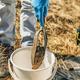 Soil Sampling.  Agronomist Taking Sample with Soil Probe Sampler - PhotoDune Item for Sale