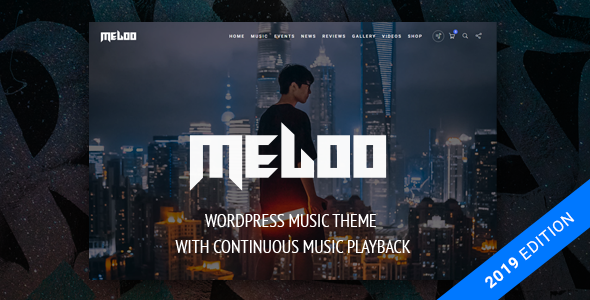 Download Meloo –  Music Producers, DJ & Events Theme for WordPress nulled 1 meloo