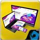 Floating Responsive Mockup - GraphicRiver Item for Sale