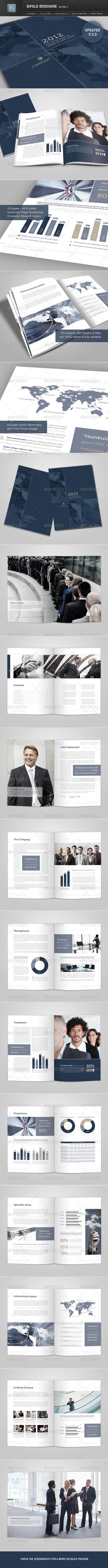 Bifold Brochure | Volume 3 - Corporate Brochures