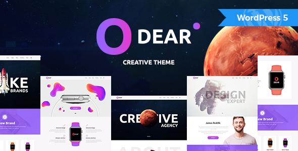 Odear - Multi-Concept Creative WordPress Theme