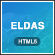 Eldas - Isometric Portfolio HTML5 Template - ThemeForest Item for Sale