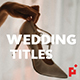 50 Wedding Titles | Essential Graphics | Mogrt - VideoHive Item for Sale