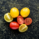 red and yellow cherry tomatoes - PhotoDune Item for Sale