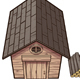 Cartoon Wooden Cabin - GraphicRiver Item for Sale