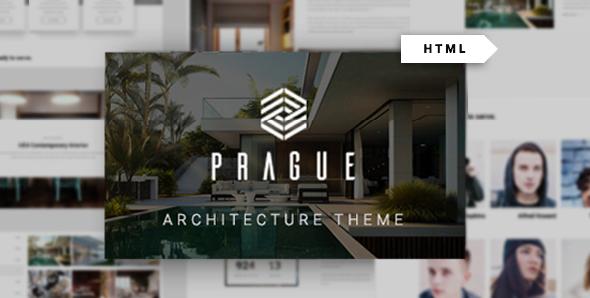 Prague - Architecture HTML Template