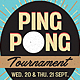 Table Tennis / Ping Pong Flyer Template - GraphicRiver Item for Sale