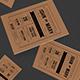 Vintage Kraft Paper Wedding Invitation - GraphicRiver Item for Sale