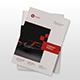 Red Company Profile - GraphicRiver Item for Sale