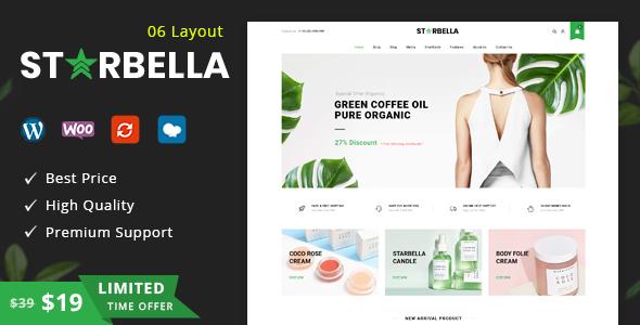 StarBella - Multipurpose WooCommerce Theme