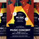 Live Music Concert Flyer - GraphicRiver Item for Sale