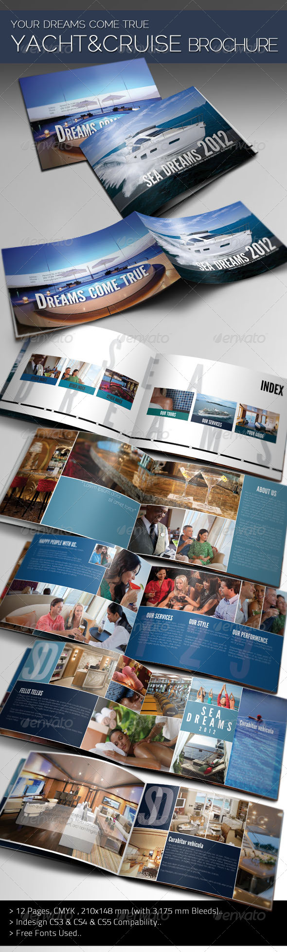 Sea Dreams - Yacht & Cruise Brochure - Corporate Brochures