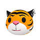 Tiger Head - 3DOcean Item for Sale