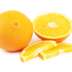 Orange fruit on white - PhotoDune Item for Sale