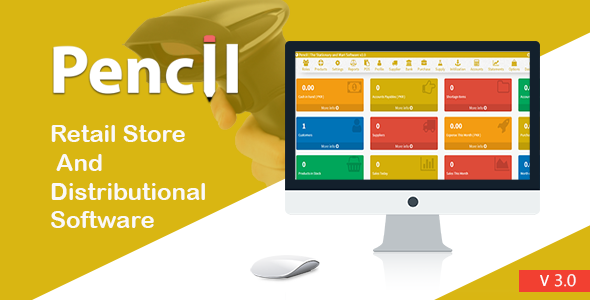 Pencil - The Retail Store and Distribution Software | codecanyon