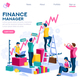 Finance and Engineering Concept Vector - GraphicRiver Item for Sale