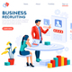 Infographic Employment Concept Vector - GraphicRiver Item for Sale