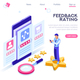 Survey Banner Rating Concept - GraphicRiver Item for Sale