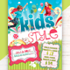 Kids Style Flyer Template - GraphicRiver Item for Sale