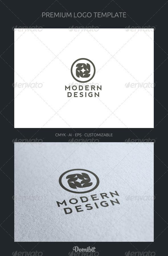 Modern Design Logo Template - Abstract Logo Templates