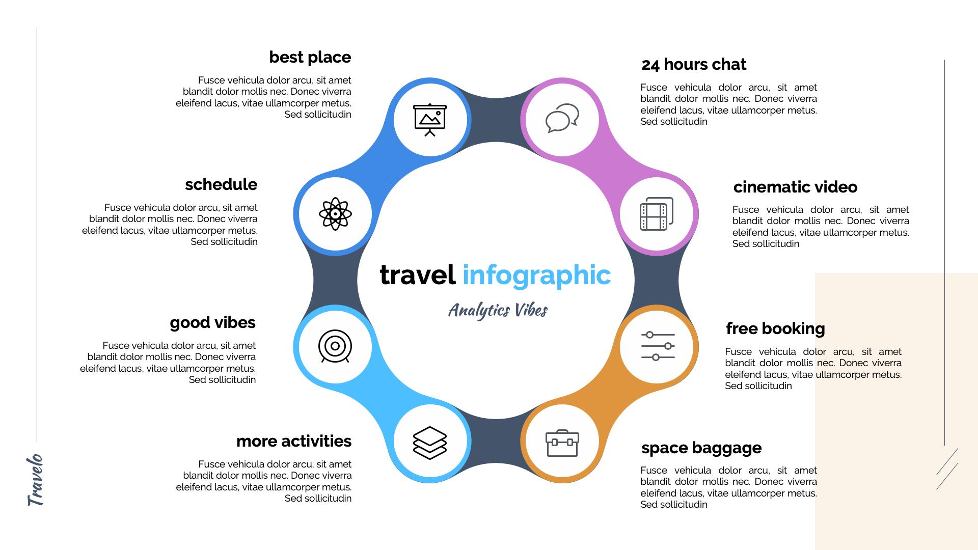 Travelo - Travel Agency Google Slide Template