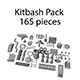Kitbash Pack 165 pieces - 3DOcean Item for Sale