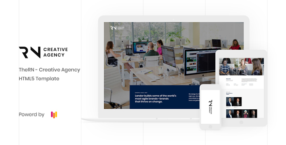 Creative Agency HTML5 Template by Rainbow-Themes